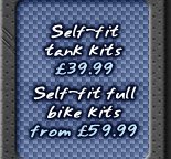 Bike tank kits from only £39.99